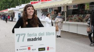 Irene Álvarez, Lata de Sal, en la Feria del Libro de Madrid