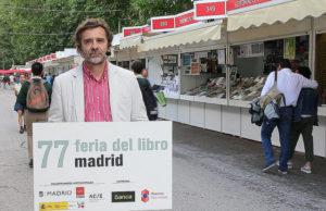 Ignacio Bazarra en el Micro de la Feria del Libreo de Madrid