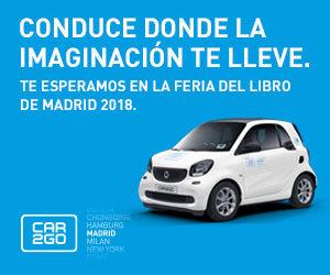 CAR2GO colaborador de la 77 edición de La Feria del Libro de Madrid 2018