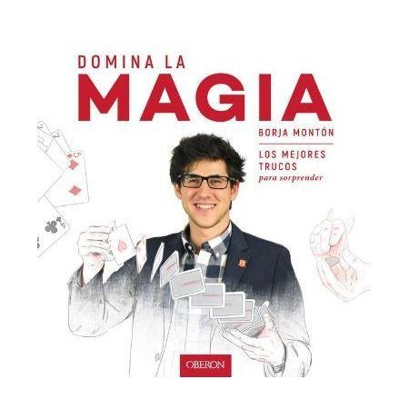 Cubierta libro Domina la magia