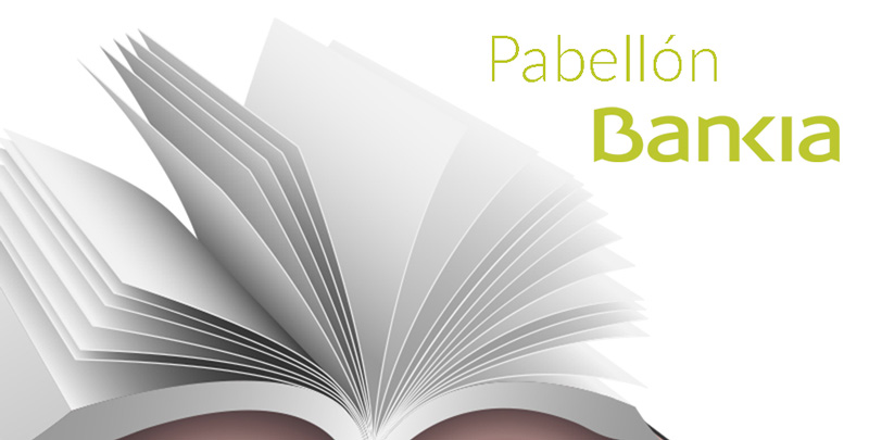 Actividades en el pabellón de Bankia de la Feria del Libro de Madrid