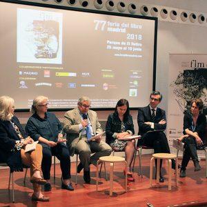 Presentación de la 77 edición de la Feria del Liro de Madrid 2018