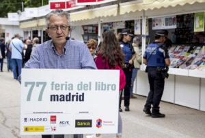 Bernardo Jaramillo en la Feria del Libro de Madrid