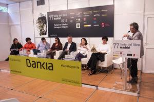 Encuentro de bibliotecas América Latina Feria del Libro de Madrid