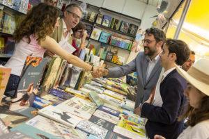 Màxim Huerta en la Feria del Libro de Madrid
