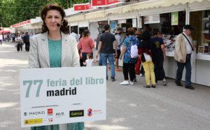 Gabriela Dancău, Embajadora de Rumanía en la Feria del Libro de Madrid