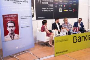 Homenaje a García Lorca en la Feria el Libro de Madrid