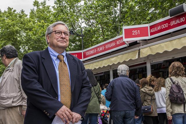 Manuel Gil, director de la Feria del Libro de Madrid