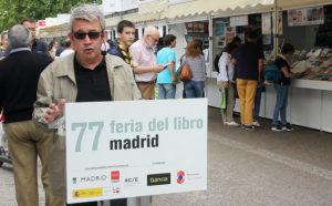 Guillermo Busutil en la Feria del Libro de Madrid