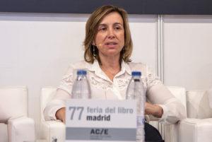 Elvira Marco en la Feria del Libro de Madrid