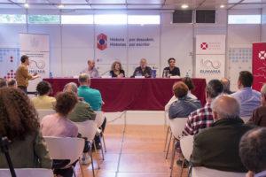 Fernando Savater en la Feria del Libro de Madrid