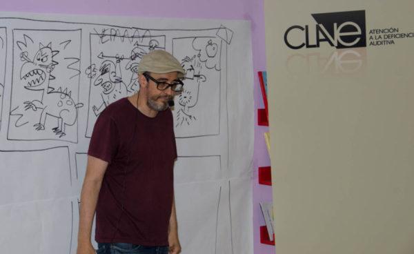 Taller del ilustrador Álvaro Núñez