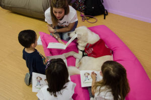 Taller de lectura con perros