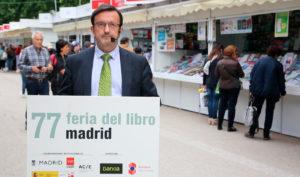 Ángel Prado (Bankia) en la Feria del Libro de Madrid