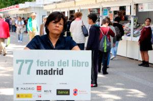 Isolda Arita en la Feria del Libro de Madrid