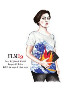 Cartel Feria del Libro de Madrid 2019. Autora: Sara Morante