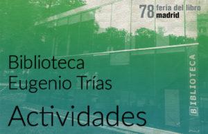 Jornadas sobre Arbolado Urbano. Afecciones. El nuevo Servicio de Evaluación y Revisión Verde @ Biblioteca Municipal Eugenio Trías