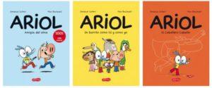 Dibuja tu propio personaje de ARIOL @ Pabellón infantil