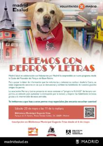 'Leemos con perros y letras'. Voluntarios por Madrid @ Carpa Multiusos