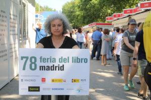 Carmen Huertas Feria del Libro de Madrid