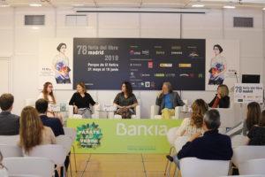 mesa redonda nativos digitales Feria del libro de Madrid