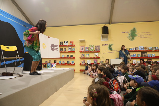 Pabellón Infantil Feria del Libro de Madrid