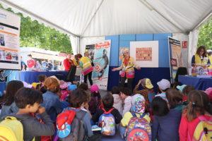 Los mayores cuentan Feria del Libro de Madrid