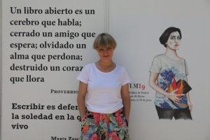 Sara Morante Feria del Libro de Madrid
