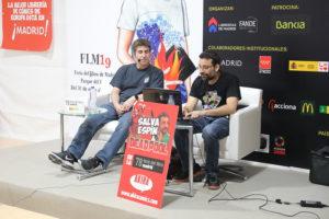 Akira Cómics y Salva Espín Feria del Libro de Madrid
