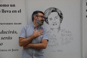 Darío Ochoa Feria del Libro de Madrid
