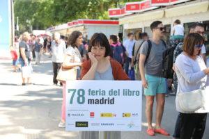 Pilar Adón Feria del Libro de Madrid