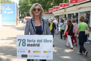 Paloma Sobrini en el Micro de la Feria del Libro 2019