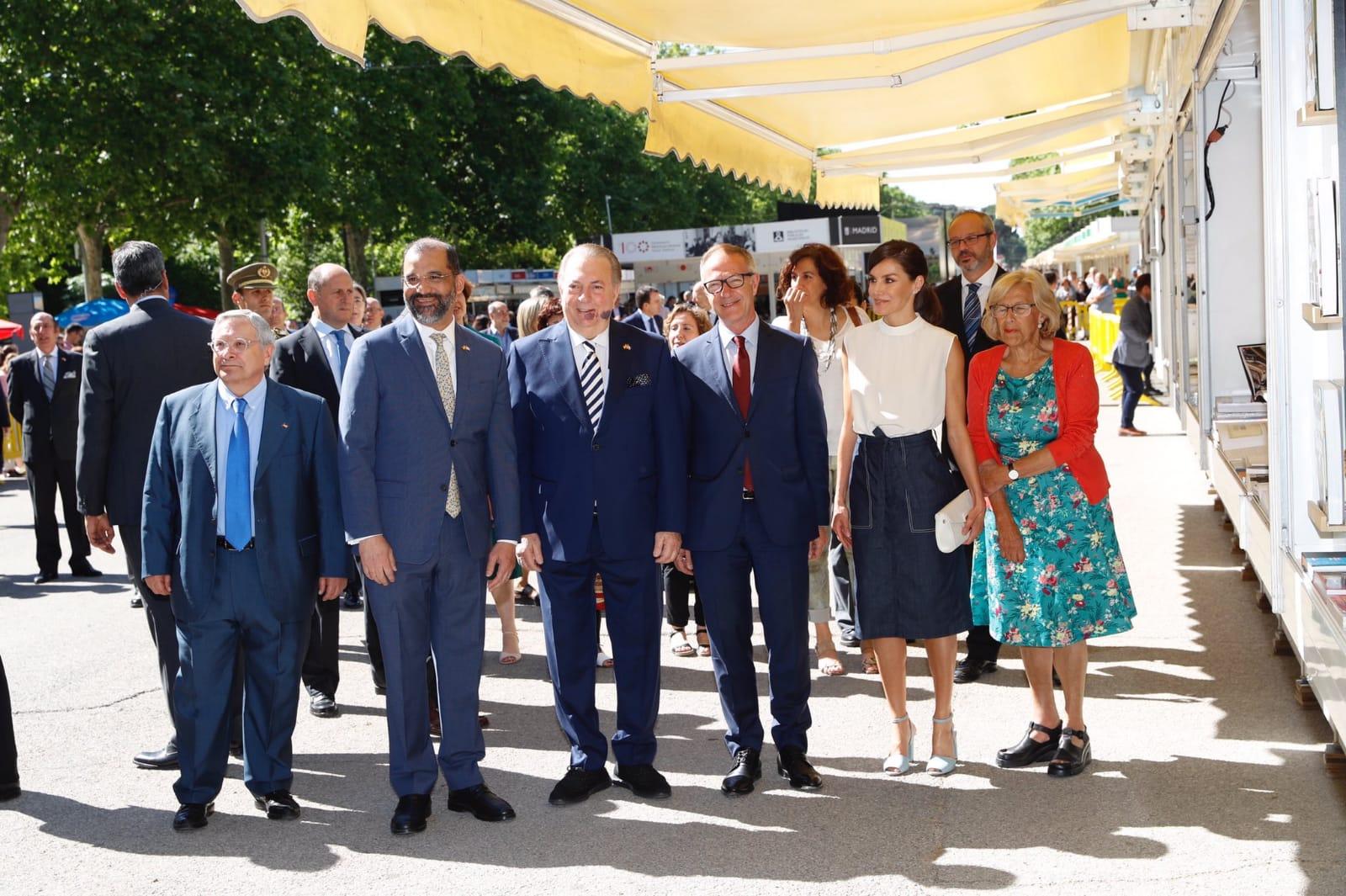 La reina Letizia inaugura la FLM19