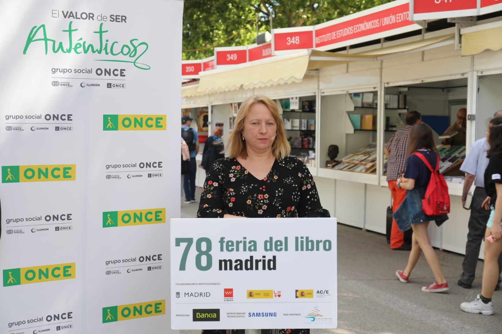 Carmen Bayarri Feria del Libro de Madrid