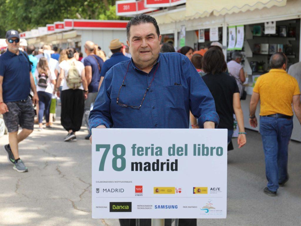 Rodríguez Rivero Feria del Libro de Madrid