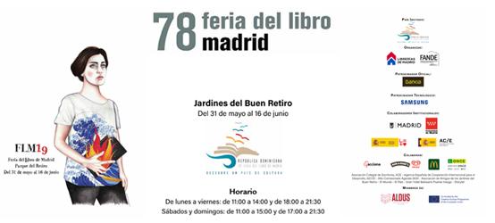 Dossier de prensa de la 78ª edción de la Feria del Libro de Madrid