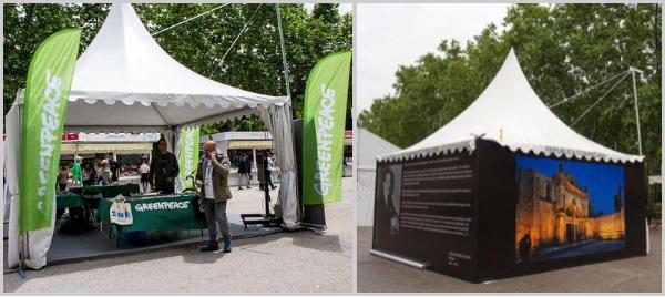 Colaborador en Carpa en la Feria del Libro de Madrid