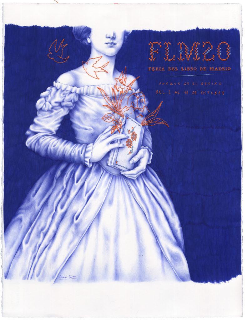 Cartel de la 79ª edición de la Feria del Libro de Madrid del 2020