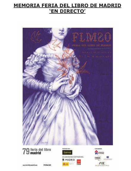 Memoria de la Feria del Libro de Madrid en Directo del 2020