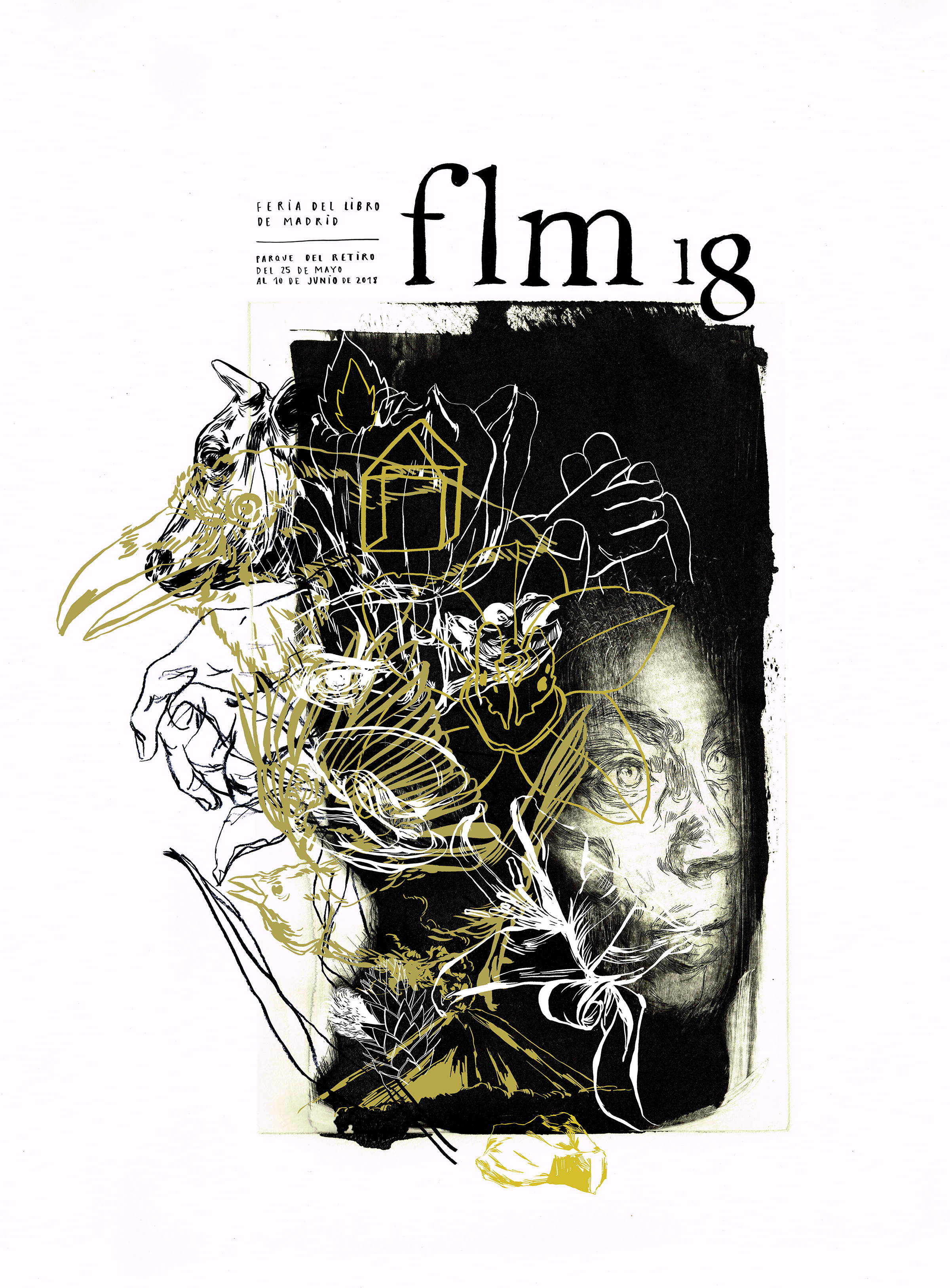 El cartel de la Feria del Libro de Madrid, de Paula Bonet