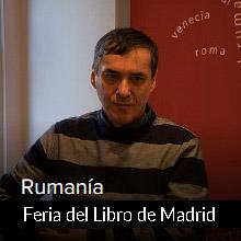 Mircea Cartarescu. Rumanía país invitado de la Feria del Libro de Madrid 2018
