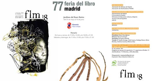 Imagen de la primera página del Reglamanto de la Feria del Libro de Madrid